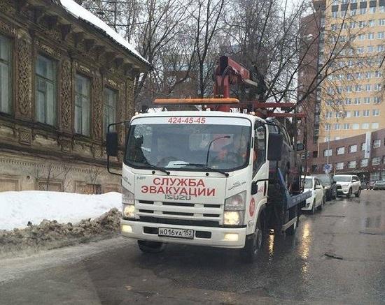 Машину иногороднего инвалида-колясочника эвакуировали в Нижнем Новгороде
