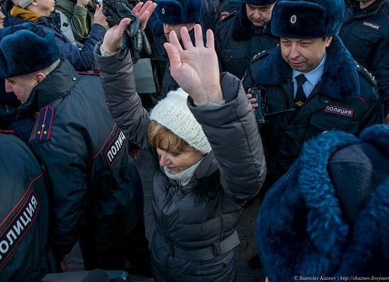 Организаторов митинга против коррупции вНижнем Новгороде будут судить