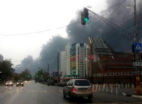 Последствия пожара назаводе «Лукойла» ликвидированы