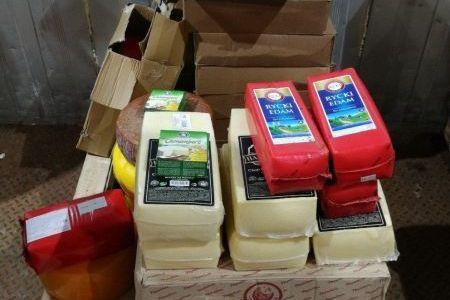 210кг незаконных сыров уничтожено вНижнем Новгороде