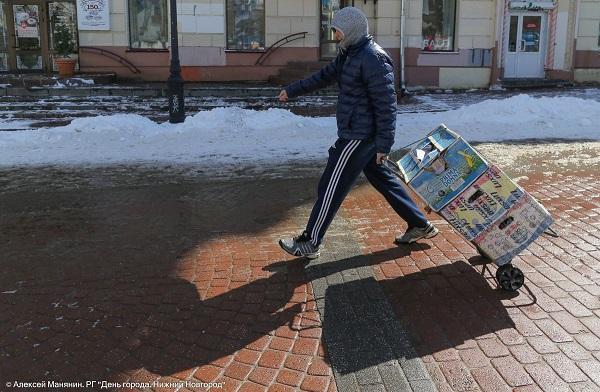 Рейд против незаконной торговли провели наБольшой Покровской
