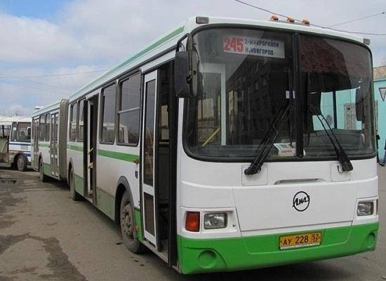 Автобус нижний г бор